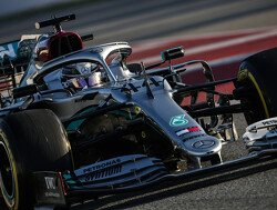 Mercedes steering movements cause interest in Barcelona