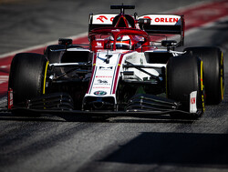 Raikkonen fastest after day two but causes red flag