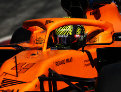 Norris: MCL35 improvements 'depends what you compare it to'