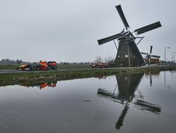 De Formule 1-teams arriveren in Zandvoort