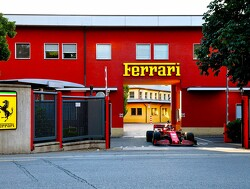 Leclerc takes to the Maranello streets in the SF1000