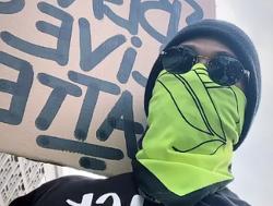 Hamilton joins Black Lives Matter protest in London