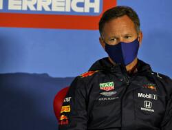 """Horner: """"Max Verstappen reed snelste ronde met kapotte voorvleugel"""""""