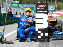 Norris 'speechless' after first F1 podium finish
