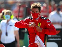 Leclerc: Taking every opportunity key to podium finish