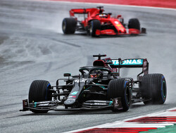 Qualifying: Hamilton storms to Styrian pole in wet conditions