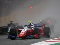 Feature Race:  Shwartzman holds off Tsunoda to win in a rain-hit Austria