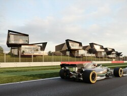 Luxurious trackside apartments at Silverstone go on sale