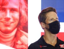 Kinderen Romain Grosjean maakten afscheidshelm voor laatste race