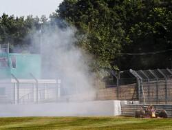 Alexander Albon crasht zijn RB16 met nieuwe updates