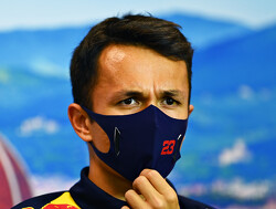 Albon happy with first F1 podium after 'really tough' Tuscan Grand Prix