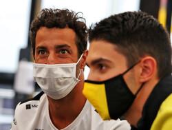 Daniel Ricciardo baalt: vijfde startplek misgelopen na gele vlaggen door spin van Ocon