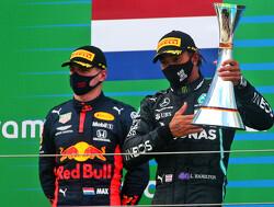 """Max Verstappen toont groot respect voor Hamilton: """"Heel indrukwekkend wat hij bereikt heeft"""""""