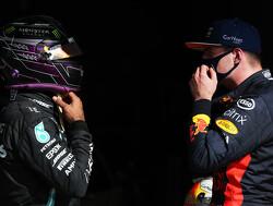 """Lewis Hamilton: """"Tijdens Spaanse GP leerde ik meer over Max Verstappen dan alle andere races bij elkaar"""""""