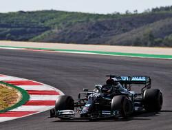 De pole lap van Lewis Hamilton