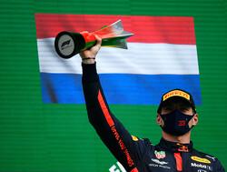 Max Verstappen geniet van racen zonder overwinning