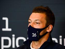Daniil Kvyat is niet bezorgd over toekomst in de Formule 1