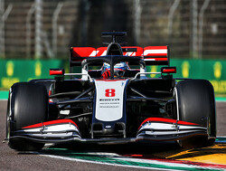 """Romain Grosjean: """"Ja, we hebben niet de snelste auto, maar elke ronde is hier leuk"""""""