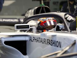 De F1-test van Yuki Tsunoda in beeld
