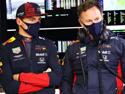 Christian Horner is dit jaar nog niet boos geweest op Max Verstappen
