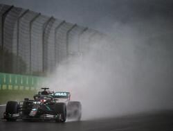 Lewis Hamilton wordt bang van omstandigheden in Turkije
