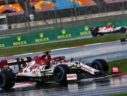 """Kimi Raikkonen baalt van weinig regen: """"De race was niet leuk"""""""