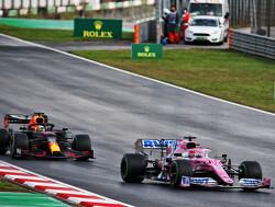 Max Verstappen weer niet gezien door Racing Point-coureur