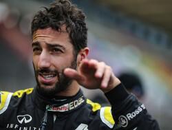 """Ricciardo kijkt uit naar warmere races: """"Die kou is niks voor mij"""""""