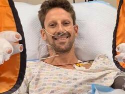 """Eerste reactie Grosjean: """"Halo heeft mijn leven gered"""""""