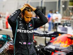 """Hamilton niet bang na ongeluk Grosjean: """"Ik ken de gevaren"""""""