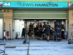 Lewis Hamilton komt dit weekend gewoon in actie, Russell naar Williams