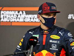 """Verstappen over toekomstige teamgenoot Perez: """"Ik heb het contract zelf met hem getekend"""""""