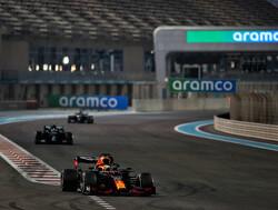 Waarom Verstappen niet mee deed aan de donut-ceremonie na GP Abu Dhabi