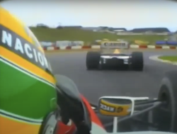 Kippenvel: Onboard bij Senna tijdens GP Kyalami 1992