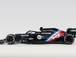 Esteban Ocon rijdt voor de eerste keer in A521