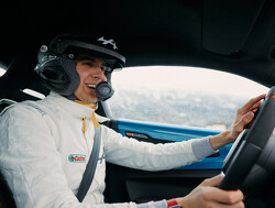 Esteban Ocon in actie tijdens de rally van Monte Carlo