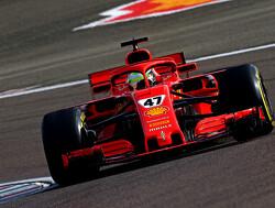 Foto's: Mick Schumacher stuurt Ferrari SF71H over Fiorano