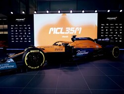 The livery of McLaren MCL35M for season 2021