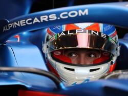 Esteban Ocon neemt eerste testdag Alpine voor zijn rekening