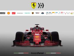 Zo presenteerde Ferrari de nieuwe bolide voor 2021
