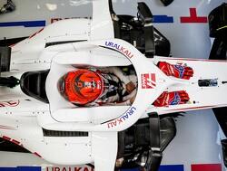 De eerste ronde van de Haas F1 Team VF-21