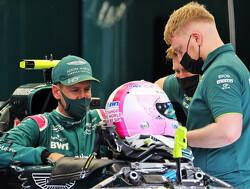 """Sebastian Vettel boos na debuut voor Aston Martin: """"Niet mijn schuld"""""""