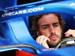 Alonso ondanks teleurstellende tijden toch blij met start van F1-seizoen