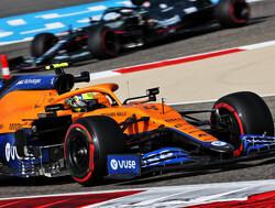 """Norris: """"We zijn vandaag snel maar Red Bull en Mercedes zijn morgen sneller"""""""