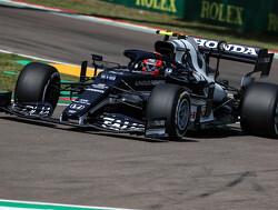 Volg Pierre Gasly tijdens het Grand Prix-weekend in Imola