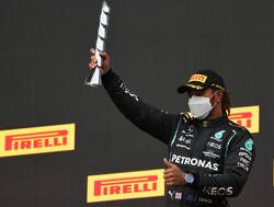 Hamilton houdt niet van nieuwe mousserende wijn genaamd Ferrari Trento