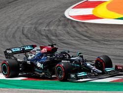 Aan boord bij Lewis Hamilton tijdens zijn snelste ronde in VT2
