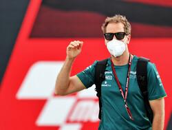 Geblinddoekt tekenen met Sebastian Vettel en Lance Stroll