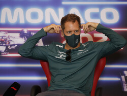 Sebastian Vettel lijkt het lek boven water te hebben en rijdt zich in de kijker tijdens  Grand Prix van Monaco