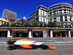 Daniel Ricciardo stelt zichzelf teleur tijdens vrije trainingen in Monte Carlo
